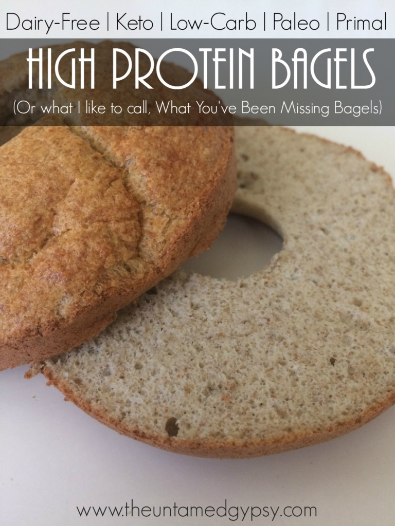 High Protein WYBM Bagel (Or Donut!) Recipe | Dairy-Free, Keto, Low-Carb, Paleo, Primal (Whatt You've Been Missing Bagels)